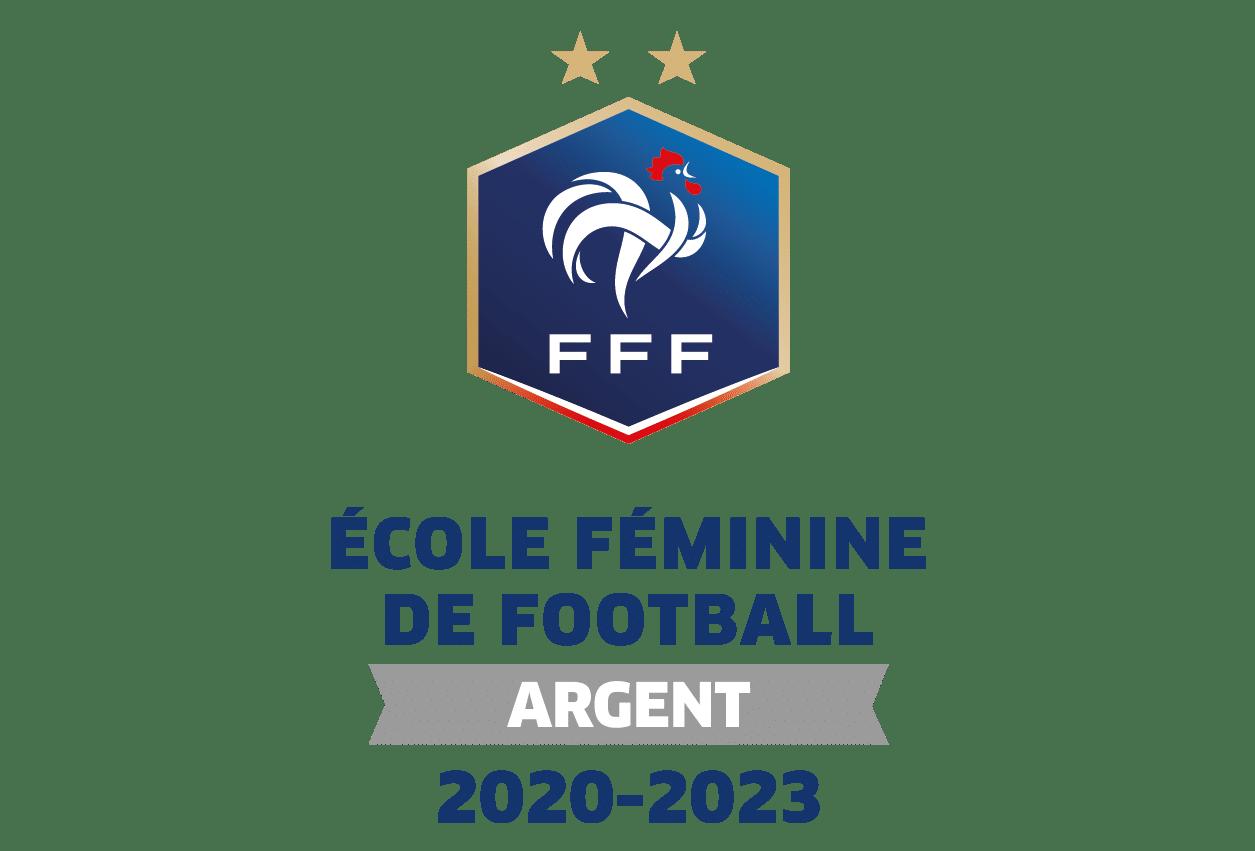 LABEL FFF ECOLE DE FOOTBALL FEMININ NIVEAU ARGENT